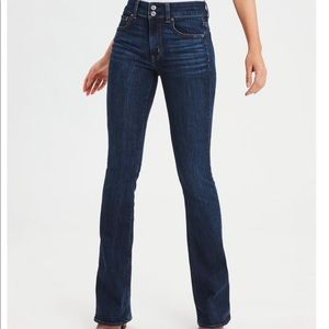 American Eagle High-Wasted Artist Flare Jeans